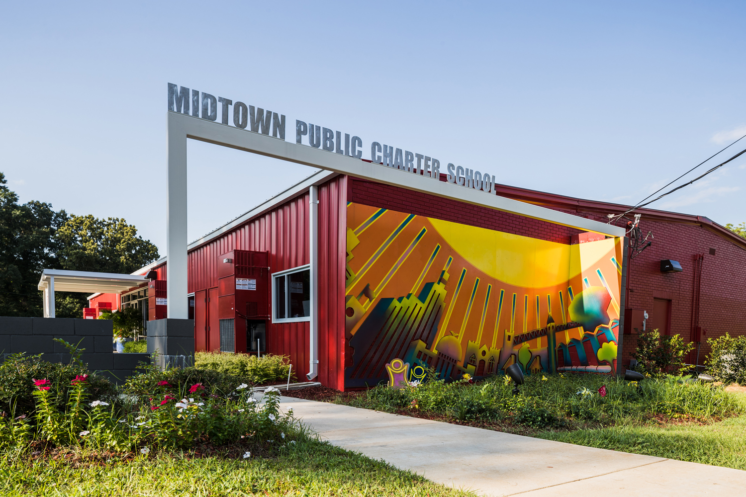 Midtown public charter school wier boerner allin wier for Architecture firms jackson ms